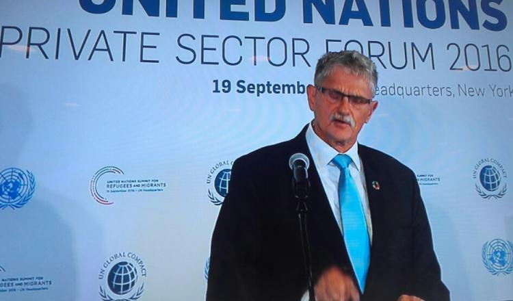 Mogens Lykketoft, Presidente del 70º período de sesiones de la Asamblea General