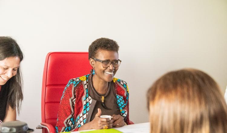 Winnie Byanyima, Directora Ejecutiva de Oxfam