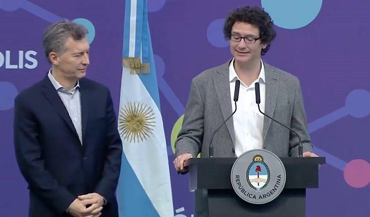 Mauricio Macri y Mariano Mayer