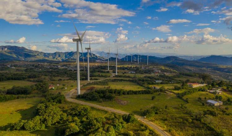 Parque Eólico Alisios en Costa Rica